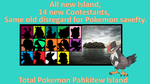 Total Pokemon Pahkitew Island Preview Poster by DEEcat98