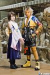 FFX: Tidus and Yuna by red-cluster