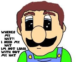 Worried Luigi by ijaz43