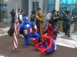 NYCC 2012: Different Heroes Together by DestinyDecade