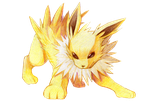 Type Collab: Jolteon by Ringo-Mikan