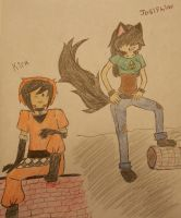 Genderbent! Kirk and Josiphine by Ask-Kit-The-Pirate