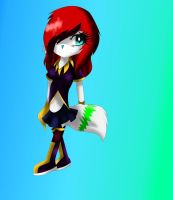 CE: Paige Ann/ New Look by AngelicHedgehog