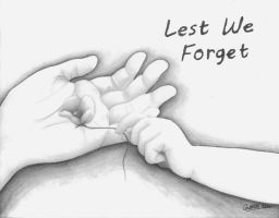 Lest We Forget by MarineFlake
