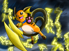 THE POWER OF RAICHU!!!!!!! by TheBlazingK