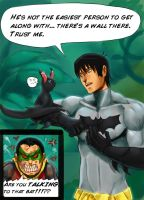DC: Dick equals Kronk by The-third-eskimo