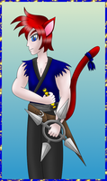 Ninja Catboy colored by MikariStar