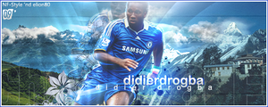Drogba collab by NF-Style