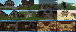 Minecraft builds by lordofpencil