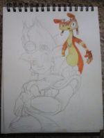 Jak and Daxter WIP by MissRana62
