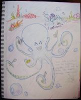 squiddy!  the octopus!  :D by nintentofu