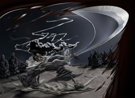 Afro Samurai by KevinHarrell