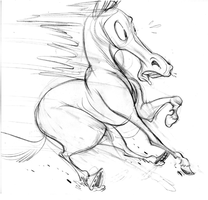 Astonished Horse by Pocketowl
