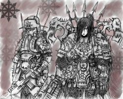 Chaos Nightmare Maiden by Taurus-ChaosLord