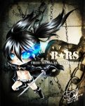 Black Rock Shooter by mintdesu