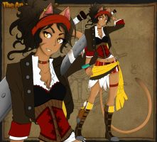 Zaina Pirate AU by Yelsah