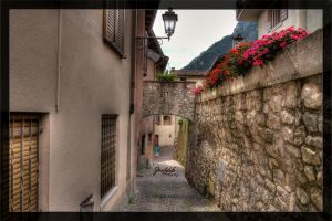 Alleys of Vesio di Tremosine 03 by deaconfrost78