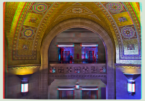 Royal Ontario Museum of Toronto 3-D Anaglyph HDR by zour