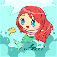 Ariel :'D by LesioletteChrysanthe