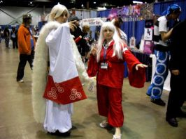 Sesshomaru and Inuyasha by Reenigrl