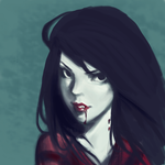 Marceline the Vampire Queen - Adventure Time by equillybrium