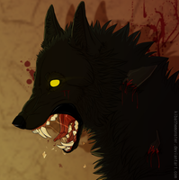 BIGby BAD WOLF by KibatheMonster