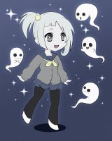 .:little ghosts:. by Miss-It-Girl