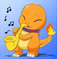Char on sax by pichu90