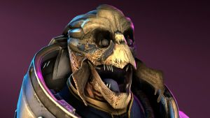 Garrus doesn't look the best by Mister-Spuds