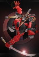 Deadpool by Ludkubo