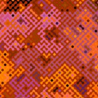 Truchet pattern 2 - earth colors by patrickjobst