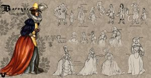 Costume Class: Baroque by Rockman0
