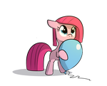 Stream Request Pinkamena with baloon by TallaFerroXIV