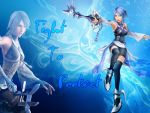 BG Kingdom Hearts Aqua 2 by Moonofthedarknight
