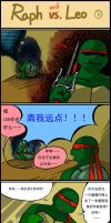 TMNT comic strip 3 chinese by Colend