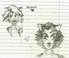 Cats - Cety and Plato by Something-Maybe