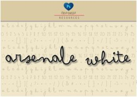 Arsenale white FONT by friabrisa
