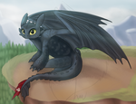 Toothless by OriginalDragonLord