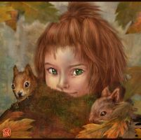 Child of Autumn by Thunderbird111