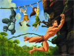 disney - tarzan by neitrali