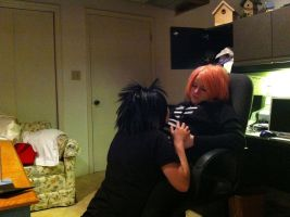 sasusaku: Can you feel her kick sasuke? by CosplayCrazyProducti
