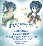 First dA ID: Miharu and Star by aragorn1014