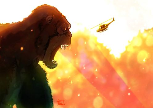 King kong Skull Island by Ultrafpc