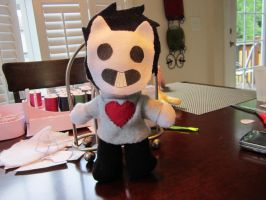 OFF Zacharie plushie by imaponie