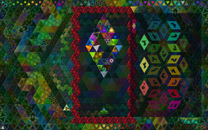 Magic Triangles, Quicktip first Minigame by 8DFineArt