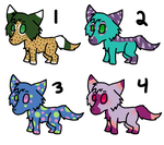 -ADOPT UPDATE- Wolf/Dog Adoption 3 - OPEN by Spychedelic