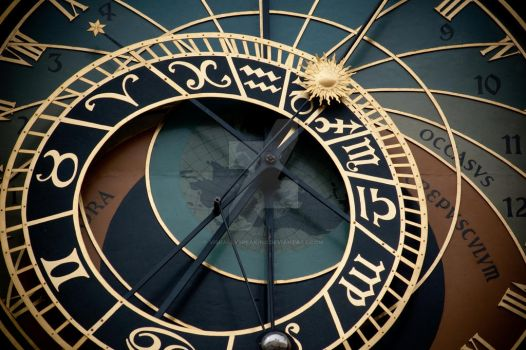 Astronomical Clock by VisuallySpeaking