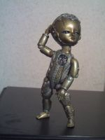 Tiny Steampunk Robot by mourningwake-press