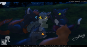 Into the Wild - Storyteller Ravenpaw by JB-Pawstep