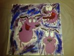 Courage the Cowardly Dog Auction {Open} by Lezbowolf95